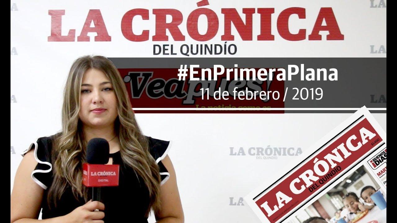 En Primera Plana: lo que será noticia este martes 12 de febrero