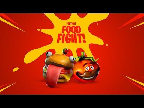 FORTNITE   FOOD FIGHT - Thời lượng: 45 giây.