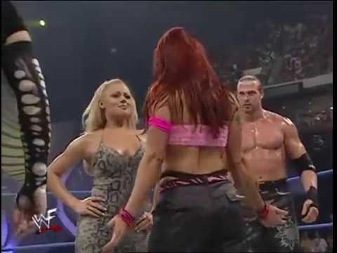 Trish Stratus & Test & Albert vs The Hardy Boys & Lita Trish's First Match