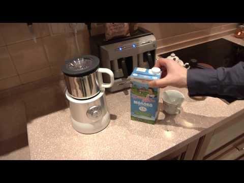 Как сделать молочную пену на кофемашине