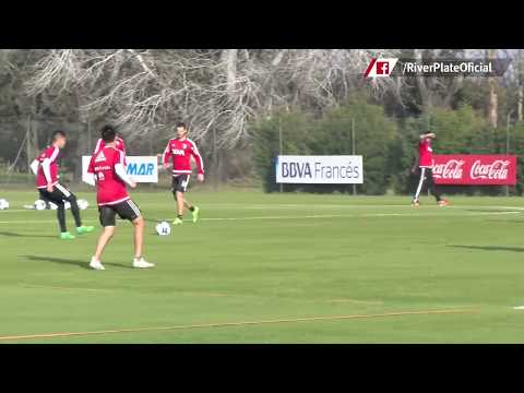 Entrenamiento en River Camp (14/06)