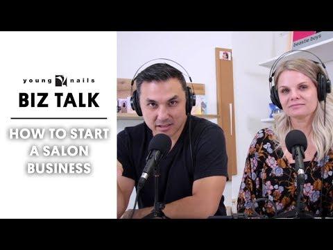Nail salon - HOW TO START A  SALON BUSINESS