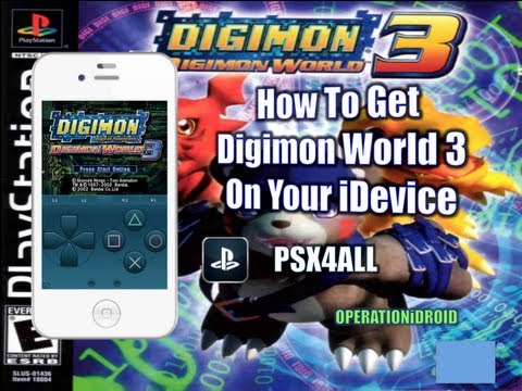 PSX4ALL: How To Get Digimon World 3 iPhone,iPad or iPod Touch