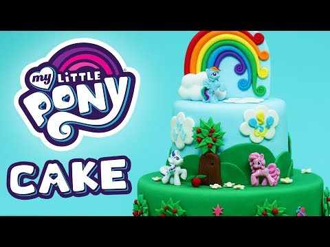 MY LITTLE PONY CAKE! - NERDY NUMMIES
