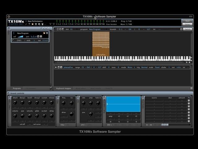 Sampling in GarageBand 10: Using the TX16Wx Software Sampler