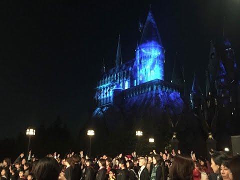 NEW Harry Potter Castle Show at Universal Studios Japan