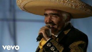 video y letra de No vuelvo a amar por Vicente Fernandez