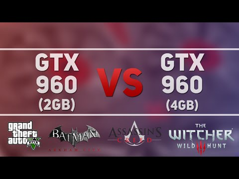 Gtx 960 2gb Vs Gtx 960 4gb In 7 New Games