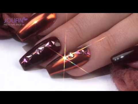 """Nageldesign - Trendstyle Nailart: """"Glowing Copper"""""""