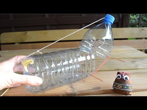 Homemade mouse trap - simple humane rat trap