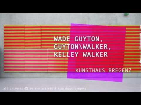 theartVIEw - Wade Guyton, GuytonWalker, Kelley Walker at the KUNSTHAUS BREGENZ