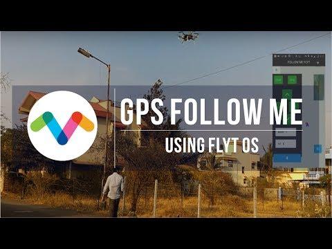 GPS FollowMe with FlytOS