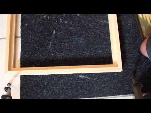 Tipps für Anfänger der Acrylmalerei (9): Rahmen und Passepartout