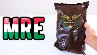 PROVEI A COMIDA DO EXÉRCITO DA HUNGRIA E ME SURPREENDI !!
