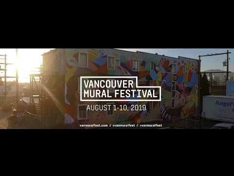 Vancouver Mural Festival 2019 Promo Video