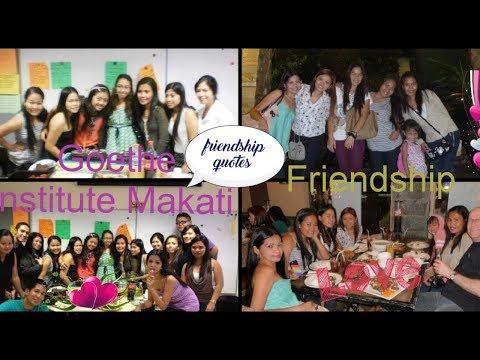 Quotes about friendship - GERMAN COURSE WITH FRIENDS /Friendship quotes / Goethe Institut Manila #friendship #truefriend