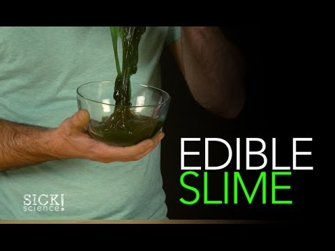 Edible Slime - Sick Science! #163 (видео)