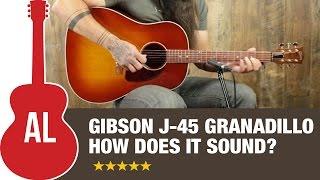 Download Lagu 2015 Gibson J-45 Granadillo Review Mp3