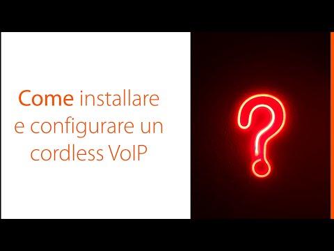 Gigaset - Come installare e configurare un cordless VoIP