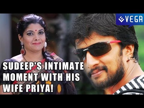 Sudeeps intimate moment with his wife Priya!