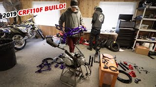 8. SICK 2019 CRF110F PITBIKE BUILDS!!