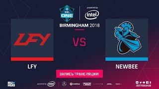 LFY vs NewBee, ESL One Birmingham, game 2 [Mila, Inmate]