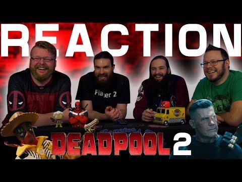 Deadpool, Meet Cable Trailer REACTION!! (видео)