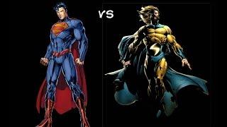 Marvel VS DC Counterparts Round 1