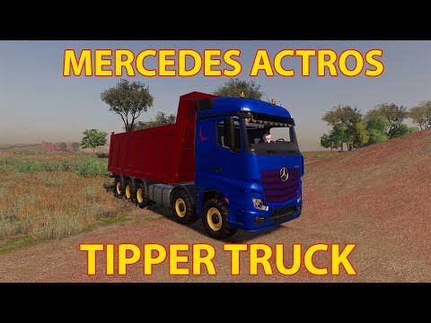 Mercedes Actros Tipper Fs19 v1.0