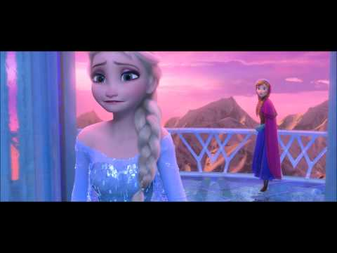 """FROZEN {Kristen Bell & Idina Menzel} - """"For the First Time in Forever (Reprise)"""" HD"""