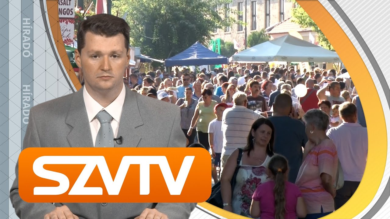 Híradó 2016.09.02. - Szerencsi Városi Televízió