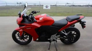 9. 2013 Honda CBR500R ABS in Red