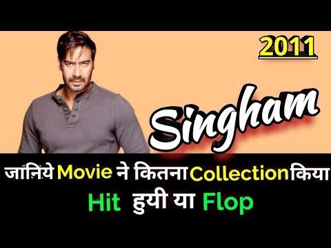 Ajay Devgan SINGHAM 2011 Bollywood Movie LifeTime WorldWide Box Office Collection