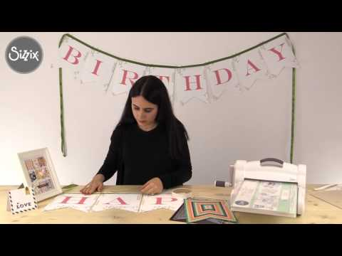 How to create birthday bunting with Paula Pascual