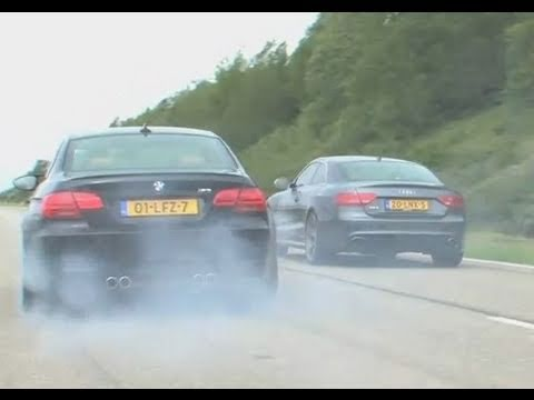tre auto favolose - audi rs5 vs mercedes c63 vs bmw m3