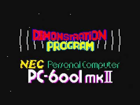 sm6392812 - NEC PC-6001mkⅡ 店頭デモンストレーション