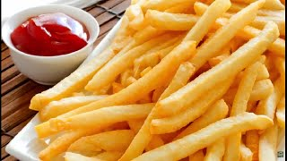 potato french fry recipe without oven at home