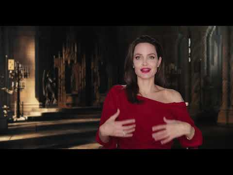 Angelina Jolie MALEFICENT 2 Mistress of Evil Behind The Scenes Interview