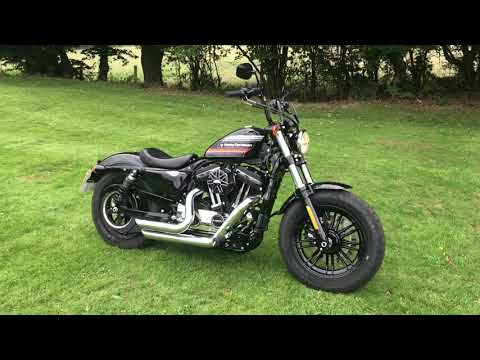 Ex demonstrator 2018 Harley-Davidson Forty-Eight Special in Vivid Black