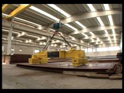 Lifting magnet systems in action