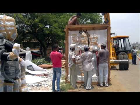 Pack Ship ¦ Shipping ¦ Art Transportation ¦ How we Pack a Sculpture for International Shipping
