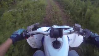 9. FIRST TIME RIDING A 450 QUAD 2016 YAMAHA YFZ450R