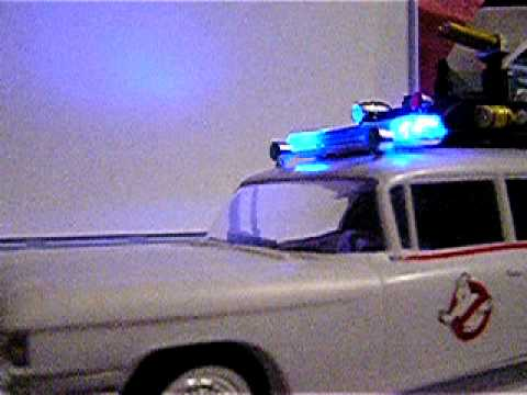 Ghostbusters Ecto 1 Drag Slot car w/ lights project