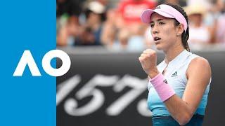 Saisai Zheng v Garbiñe Muguruza match highlights (1R) | Australian Open 2019