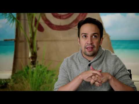 Moana: Songwriter Lin-Manuel Miranda Behind the Scenes Interview