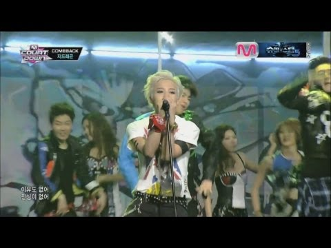 G-DRAGON_0912_M Countdown_삐딱하게 (CROOKED) + No.1 of the week