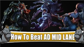 Very simple guide on how to beat AD mid laners especially with the assassin update just around the corner. This is a very solid counter that works even in diamond level gameplay. If you are looking to climb to gold elo+ I would highly recommend learning chogath that way if someone on the enemy team first picks zed,talon, or yasuo it will pretty much be a free lane.