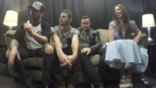 River Town Saints hit up Abbotsford Centre during their tour with Kip Moore.  I sat down to find out what's next for the band, who they're cheering for in the playoffs, and of course...what socks they wear.