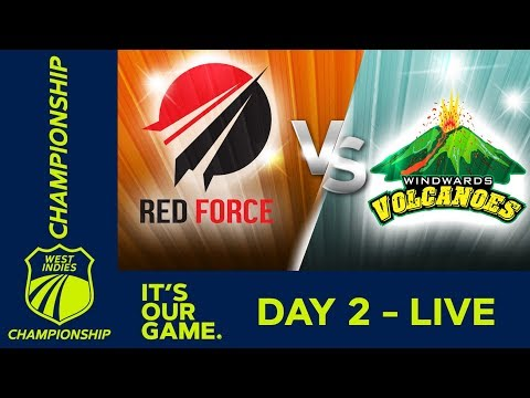 *LIVE West Indies Championship* - Day 2 | T&T Red Force v Windwards | Friday 14 December 2018