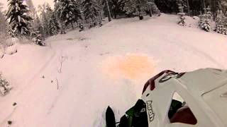 5. Ensitestit 26.12.2014 Artic Cat ZR 4000 RR 2015